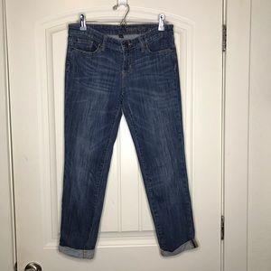 Gap Cropped Skinny Jeans Dark Wash - amazing!